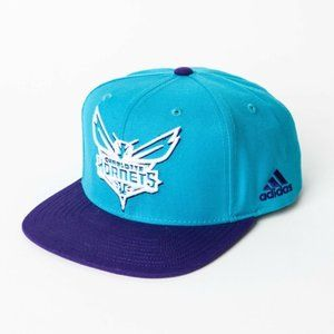 Adidas Charlotte Hornets Embroidered Snap Back Hat